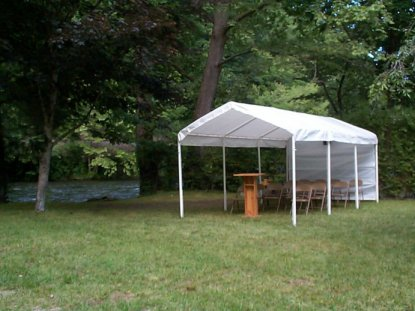 Campground Worship Services on the Nantahala River